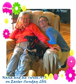 Nana and Brandy Easter 2016 PHOTOSHOPPED